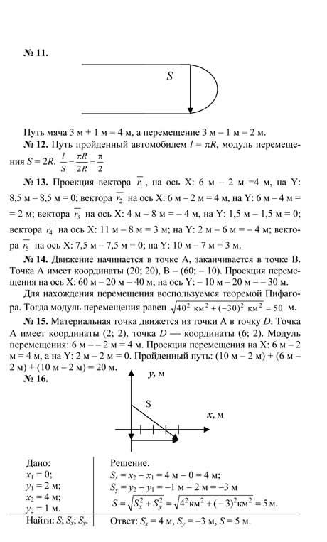 Гдз по физике 10-11рымкевич
