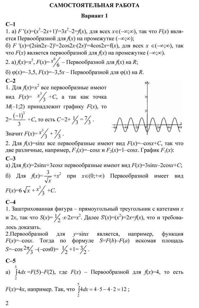 Гдз к дидактически материалам по алгебре по колмогорову 10 класс
